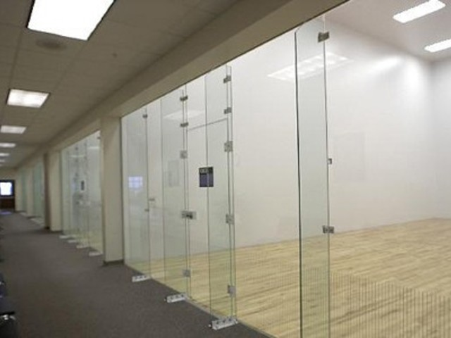 Racquetball Court Recessed Troffer Lighting
