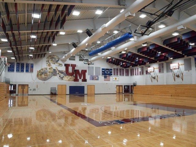 High Bay Gymnasium Lighting