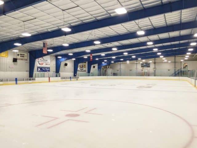 LED High Bay Hockey Lighting