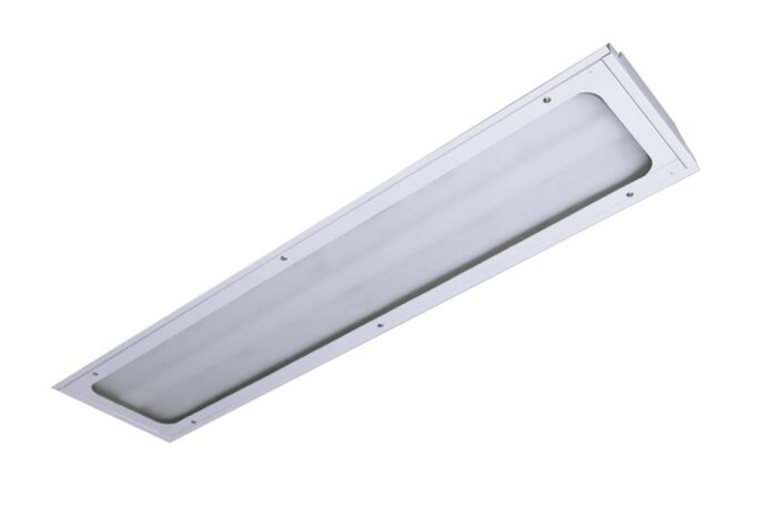 LED Sealed Face Troffers 1x4