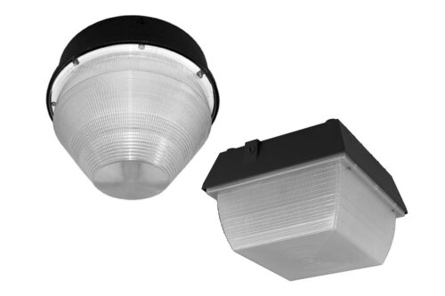 LED Canopy Lights Round and Square Housing