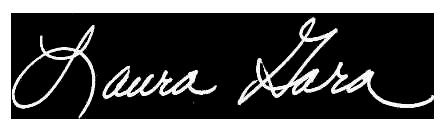 Laura Gara - Signature